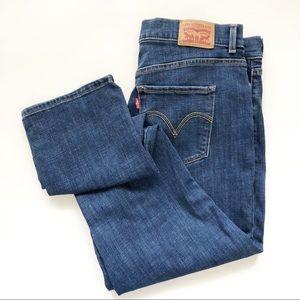 Levi's Classic Straight Lapis Dark Horse Jeans